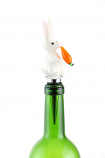 "6"" BOTTLE STOPPER, WHITE RABBIT"