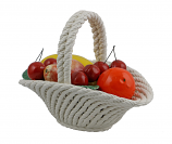 "9"" OVAL BASKET OF FRUITS"