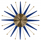 "27"" STAR-SHAPED WALL CLOCK"
