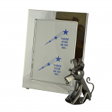 5X7 PICTURE FRAME W/ DOG