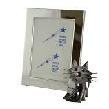 5X7 PICTURE FRAME W/ CAT