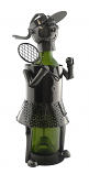 BOTTLE HOLDER, WOMAN TENNIS PLAYER