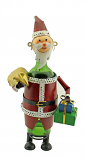 BOTTLE HOLDER, SANTA CLAUS