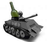 WINE BOTTLE HOLDER, 14X8 TANK