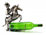 BOTTLE HOLDER, COWBOY ON HORSE