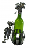 BOTTLE HOLDER, MAN & BARREL