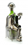 WINE BOTTLE HOLDER, CARD PLAYER