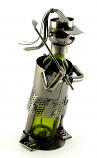 BOTTLE HOLDER, LADY GOLFER