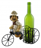 11X9 BOTTLE HOLDER, CHEF W/ GRAPES