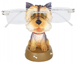 "EYEGLASS HOLDER, 4.5"" YORKSHIRE TERRIER YORKIE DOG"