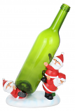 8X7 TUMBLING SANTA CLAUSES BOTTLE HOLDER