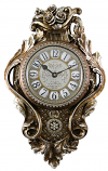 29X18 GOLD AND SILVER CLOCK