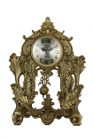 14X9 GOLD TABLE CLOCK